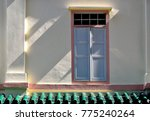 traditional shop house window...   Shutterstock . vector #775240264