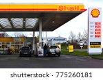 frankfurt germany november 11... | Shutterstock . vector #775260181