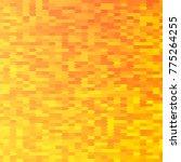 orange textured polygonal... | Shutterstock .eps vector #775264255