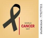 cancer day awareness poster... | Shutterstock .eps vector #775277311