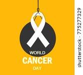 cancer day awareness poster... | Shutterstock .eps vector #775277329