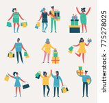vector illustration in a flat... | Shutterstock .eps vector #775278025