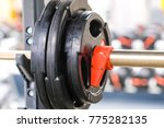 fitness wights close up | Shutterstock . vector #775282135