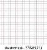 paper square grid pattern grey... | Shutterstock .eps vector #775298341