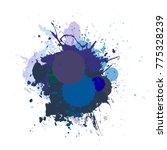 banner blot presentation ... | Shutterstock .eps vector #775328239
