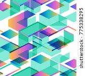 tendy illustration backgrounds  ... | Shutterstock .eps vector #775338295