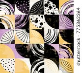 abstract background pattern ... | Shutterstock .eps vector #775362364