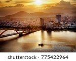 Da Nang City At Sunset