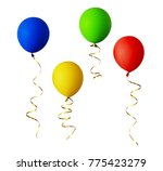 set of red  blue  green and...   Shutterstock . vector #775423279