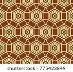 simple modern seamless... | Shutterstock . vector #775423849