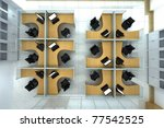 office space | Shutterstock . vector #77542525