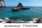 isla isabel a volcanic island... | Shutterstock . vector #775437349