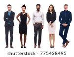 group of people | Shutterstock . vector #775438495