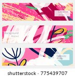 hand drawn creative universal... | Shutterstock .eps vector #775439707
