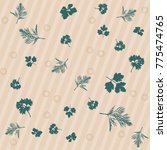 background of seasonings | Shutterstock .eps vector #775474765