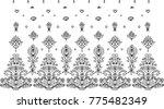border pattern for women's...   Shutterstock . vector #775482349