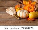 Cornucopia Of Fall Pumpkins ...