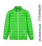 light green neon men sport ski...   Shutterstock . vector #775494649