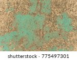 abstract background with an old ... | Shutterstock . vector #775497301