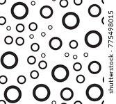polka dot seamless pattern.... | Shutterstock .eps vector #775498015