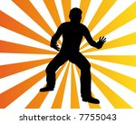 man move 2 | Shutterstock .eps vector #7755043
