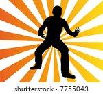 man move 2 | Shutterstock .eps vector #7755043