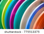 solid color or wood grain pvc... | Shutterstock . vector #775513375