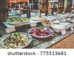 menu in all inclusive....   Shutterstock . vector #775513681