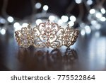 royal crown  diadem. wealth... | Shutterstock . vector #775522864
