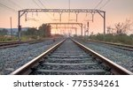 Railways Tracks (Sunset)