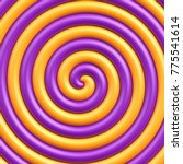 Sweet Candy Spiral Background....