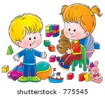 children 188 | Shutterstock . vector #775545