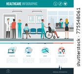 healthcare  hospitals and... | Shutterstock .eps vector #775548061