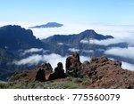 pico de bejenado and cumbre... | Shutterstock . vector #775560079
