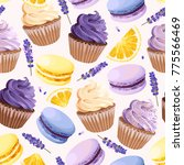 sweets seamless pattern | Shutterstock .eps vector #775566469