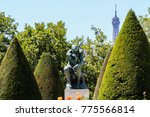 Garden Of The Rodin Museum Wit...