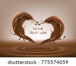 vector 3d illustration of two... | Shutterstock .eps vector #775574059