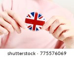 the flag of great britain ... | Shutterstock . vector #775576069
