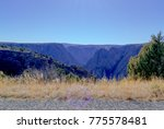 black canyon of the gunnison... | Shutterstock . vector #775578481