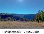 black canyon of the gunnison... | Shutterstock . vector #775578505