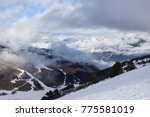 view of alps at mayrhofen ski... | Shutterstock . vector #775581019