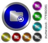 undo directory last operation... | Shutterstock .eps vector #775582081