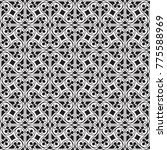 seamless gothic background.... | Shutterstock .eps vector #775588969