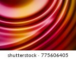 colorful ripple background | Shutterstock . vector #775606405