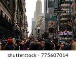 new york  ny   december 2  2017 ... | Shutterstock . vector #775607014