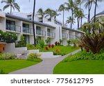 wailea beach resort apartments  ... | Shutterstock . vector #775612795
