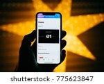 paris  france   nov 10  2017 ... | Shutterstock . vector #775623847