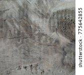 wood pattern destressed | Shutterstock . vector #775642855