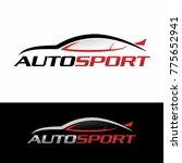 automotive car logo design  | Shutterstock .eps vector #775652941