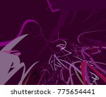 abstract art texture. colorful... | Shutterstock . vector #775654441